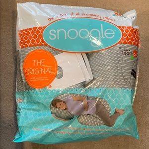 Leachco Snoogle Maternity Body Pillow, Pillowcase